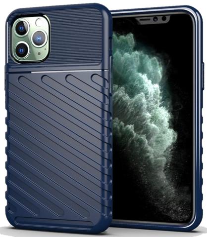 Чехол iPhone 11 Pro Max цвет Blue (синий), серия Onyx, Caseport