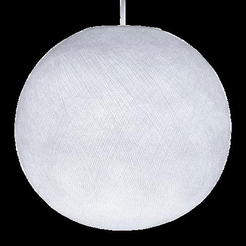 Хлопковый шар - подвес Белый
