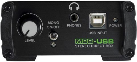 MACKIE MDB-USB активный директ-бокс