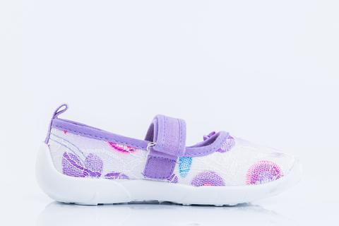 Туфли текстильные фиолетовые , Котофей (431119-12)