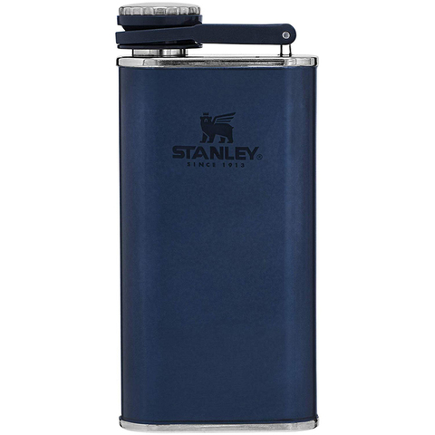 Фляга Stanley The Easy-Fill Wide Mouth Flask (10-00837-185) 0.23л. синий
