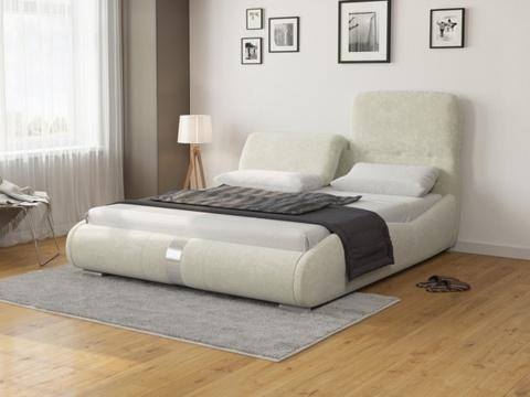 Кровать Лукка:  Ткань Лофти Лен