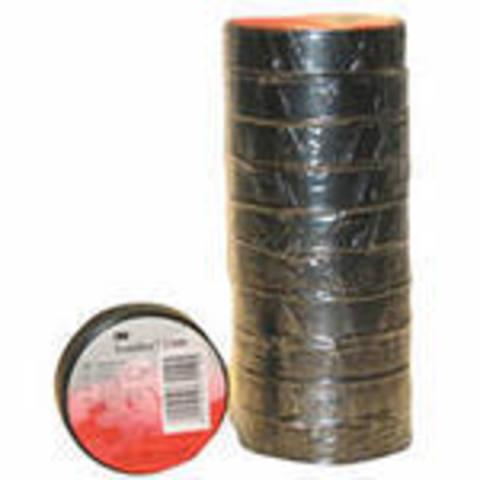 Изолента 3М Temflex™ 1300, чёрная, 15мм * 10м