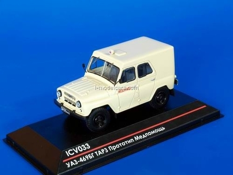 UAZ-469BG TARZ prototype Medical 1:43 ICV033