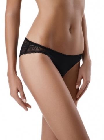 Conte Delicate Трусы женские бикини модель LB768 размер 102 цвет: nero (короб)