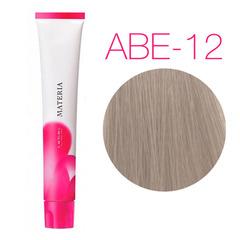 Lebel Materia 3D ABe-12 (супер блонд пепельно-бежевый) - Перманентная низкоаммичная краска для волос