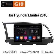 Штатная магнитола на Android 8.1 для Hyundai Elantra 6 16+ Ownice G10 S9708E