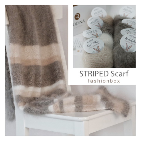 STRIPED Scarf Fashionbox