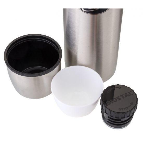 Термос Biostal Охота (1 литр) в чехле, стальной