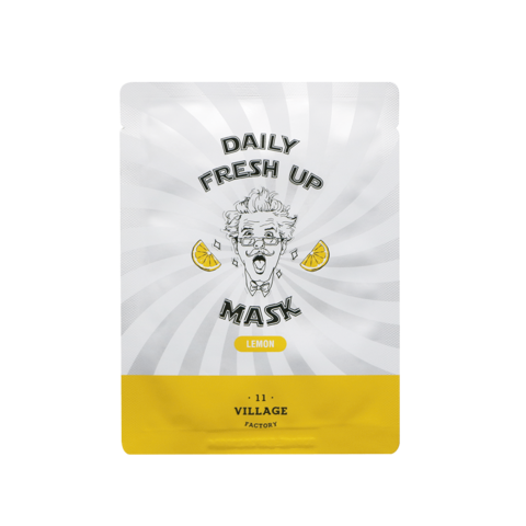 VILLAGE 11 FACTORY Daily Fresh up Mask Lemon маска с лимоном