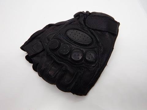 Перчатки тактические кож.