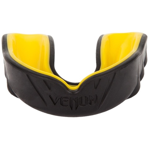 Капа Venum Challenger Mouthguard - Black/Yellow