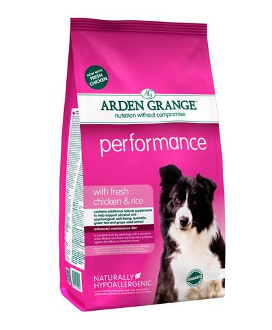 Arden Grange Adult Performance сухой корм для активных собак (с курицей и рисом) 2 кг