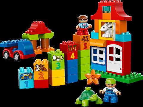 LEGO Duplo: Набор для веселой игры 10580 — Deluxe Box of fun — Лего Дупло