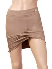 5313 юбка, коричневая