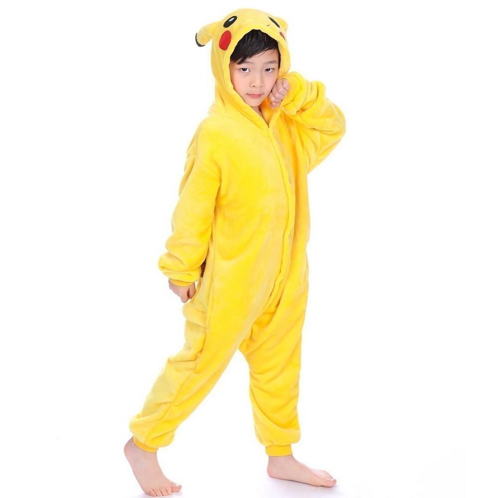 Плюшевые пижамы Покемон Пикачу детский KigPic_85-_1_.jpg