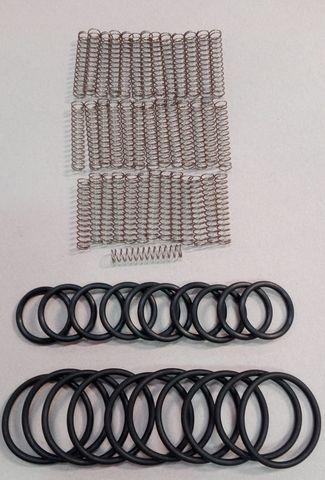 11924 Ремкомплект для автосъемника, состоящий из стальных спиральных пружин (4 шт.) И резиновых уплотнителей (2 шт.)