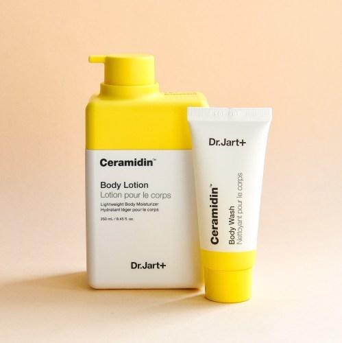 Лосьон для тела Dr.Jart+ Ceramidin Body lotion 250мл + гель для душа 30мл