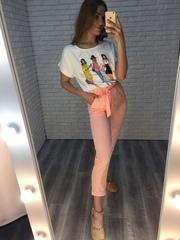 розовый летний костюм nadya