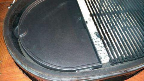 Чугунная сковорода двухсторонняя в форме полумесяца для Primo XL