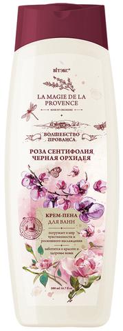 Витэкс Волшебство Прованса Крем-пена для ванн Роза Сентифолия и Черная Орхидея 500 мл