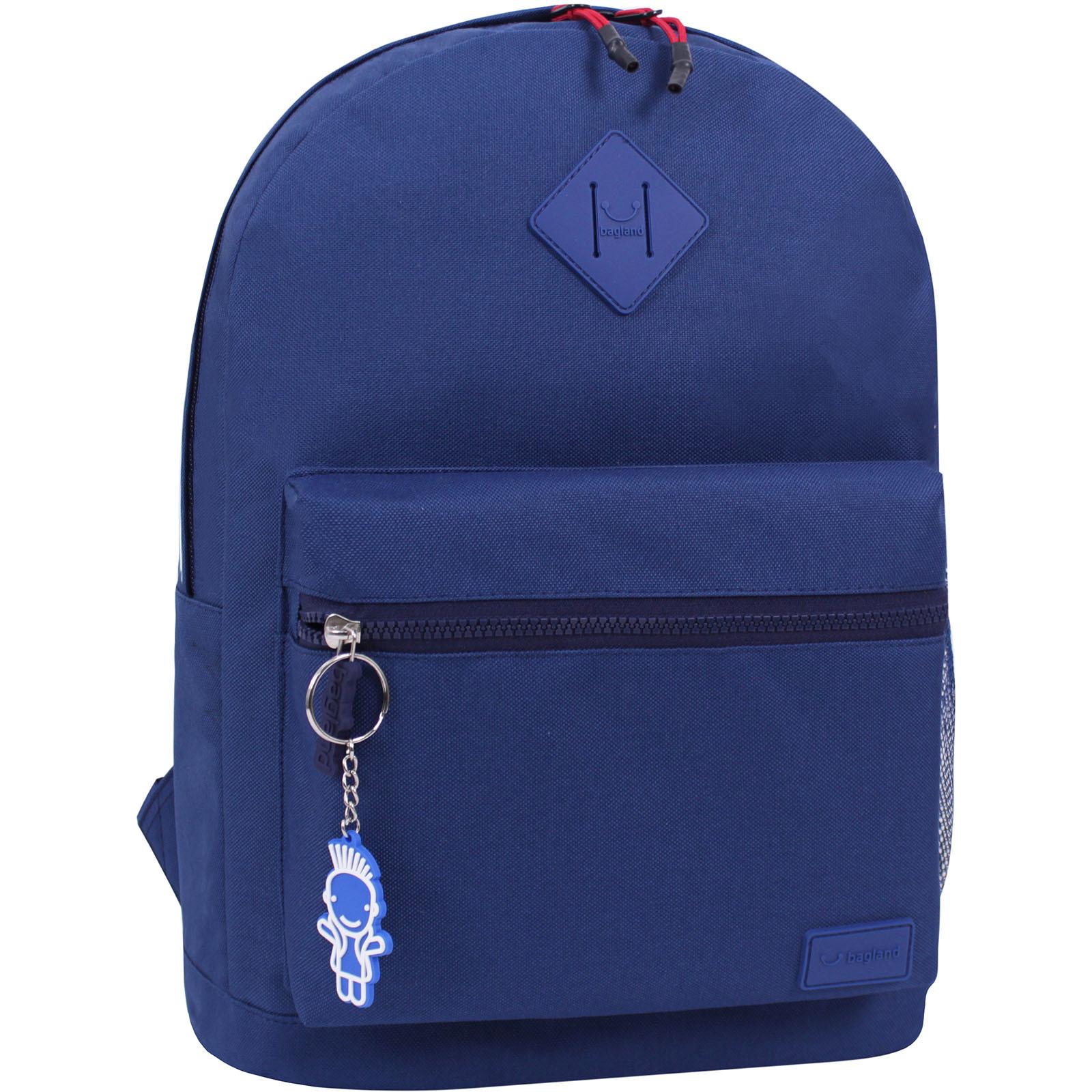Молодежные рюкзаки Рюкзак Bagland Hood W/R 17 л. синий 453 (0054466) IMG_6161_суб.453_.JPG