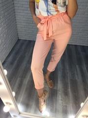 розовый летний костюм недорого
