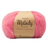 Пряжа Drops Melody 17 неоновый розовый