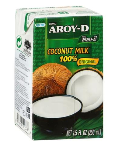 Молоко Кокосовое, т/п, 0,25 л (ЭксИм Пасифик)