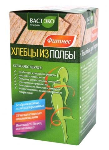 Хлебцы из полбы ломтики без соли, 90 гр. (ВАСТЭКО)