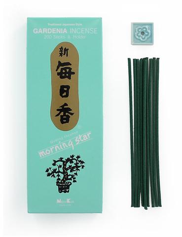 Японские благовония Morning Star Gardenia 200 шт
