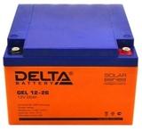 Аккумулятор Delta GEL 12-26  ( 12V 26Ah / 12В 26Ач ) - фотография