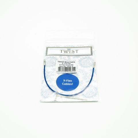 Леска Twist x-flex blue cable, ChiaoGoo
