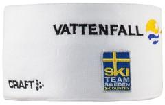 Повязка сборной Швеции  Craft Ski Team Race Headband White
