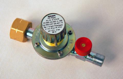 Газовый редуктор GOK M50-V/SBS