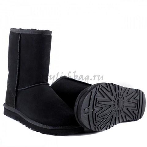 Классические угги UGG Classic Short Black