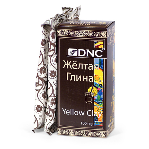Желтая глина | 100 гр | DNC