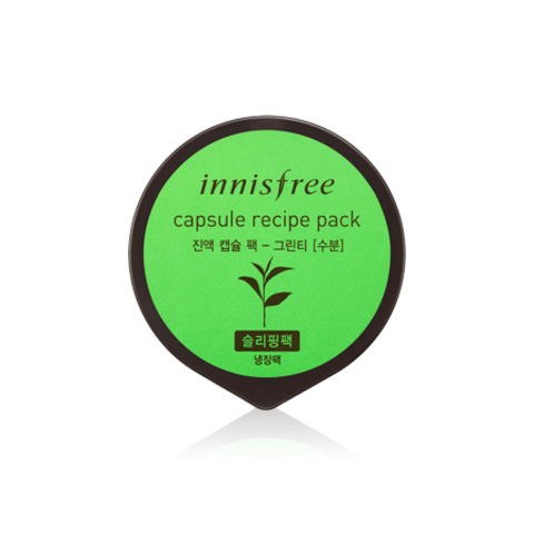 INNISFREE CAPSULE RESIPE PACK GREEN TEA