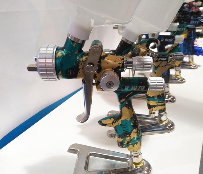 Краскопульт RETT, различные модели