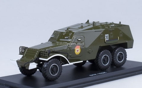 BTR-152K khaki Start Scale Models (SSM) 1:43