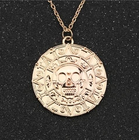 Пираты Карибского моря кулон Монета Ацтеков