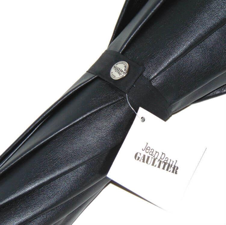 Зонт-трость Jean Paul Gaultier 764-JPG кожаный