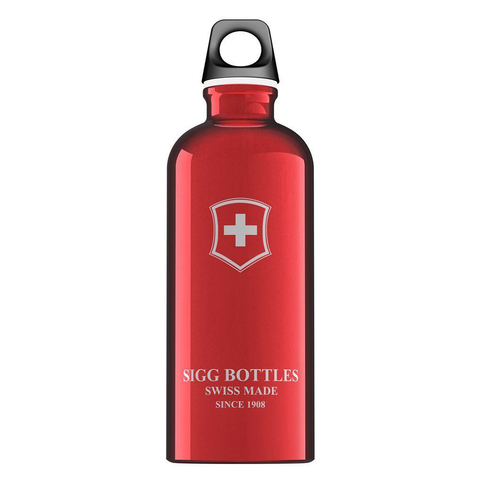 Бутылка Sigg Swiss Emblem (0,6 литра), красная
