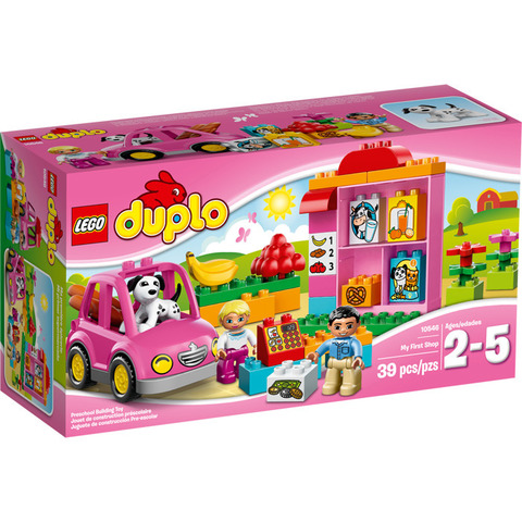 LEGO Duplo: Супермаркет 10546 — My First Shop — Лего Дупло