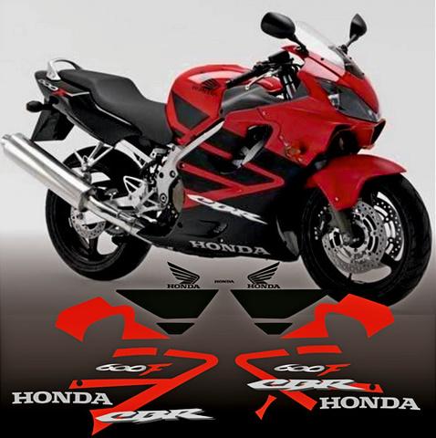 Набор виниловых наклеек на мотоцикл HONDA CBR 600 F4 2006