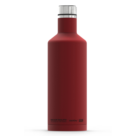 Термос-бутылка Asobu Times square (0,45 литра), красная