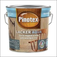 Лак колеруемый Pinotex Lacker Aqua 10 (Прозрачный)