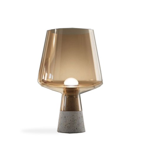 Настольный светильник Glass by Light Room ( янтарный )