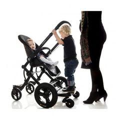 Подножка Bumprider Sit для второго ребенка с сиденьем