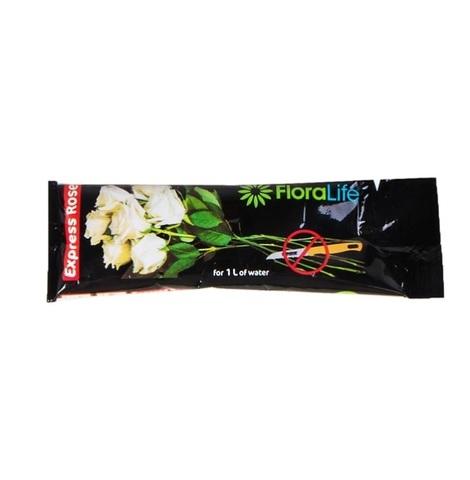 Подкормка для цветов Oasis FloraLife Express Rose (Флоралайф) жидкая, 10 г (1 пакетик)